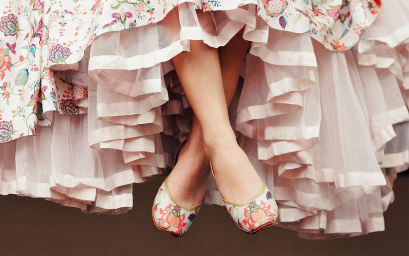 Ditch Stilettos for Juttis this Wedding Season!