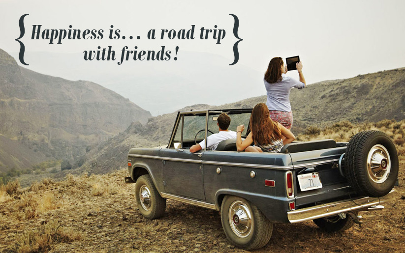 Road Trips You Need to Take With Your Gang!