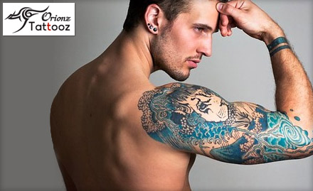 Cast a spell with 12 sq inch permanent tattoo at Rs 699